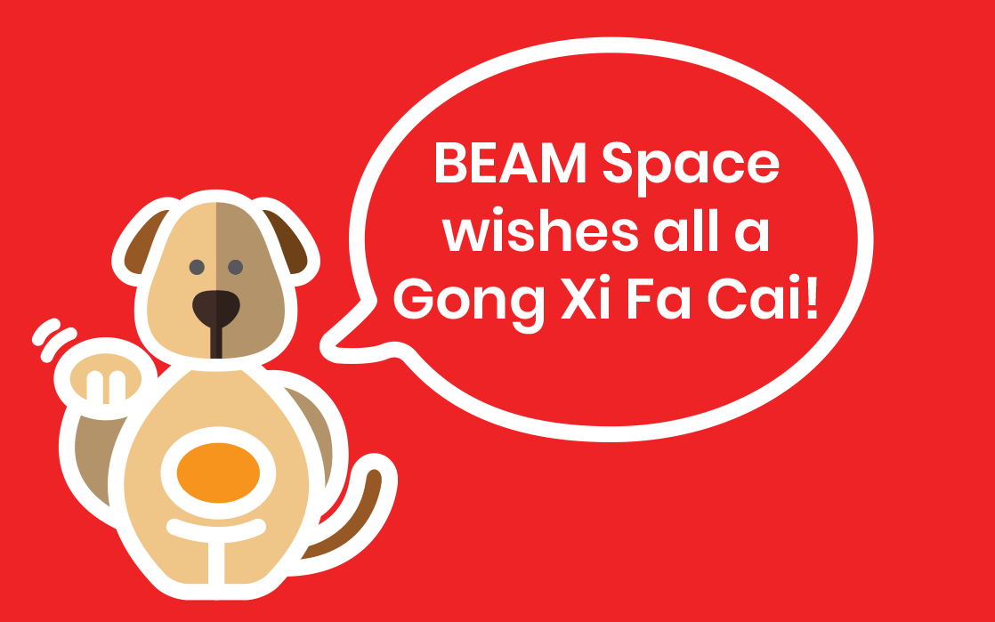 BEAM Storage CNY 2018 Promotion (Singapore)