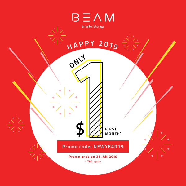 BEAM New Year 2019 Promotion