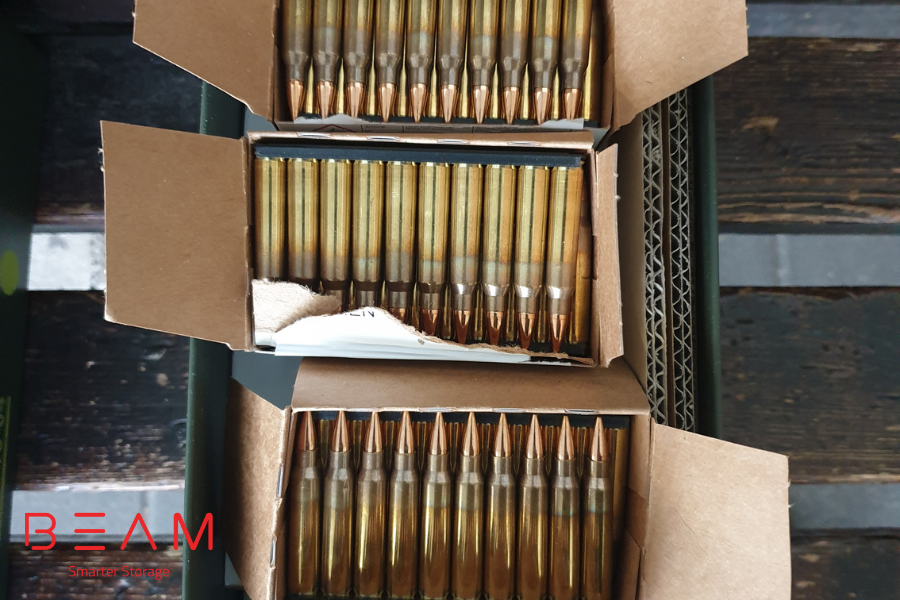 Handy Tips for Valet Storage - ammunitions